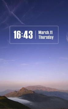 ZUI Locker Theme - Pure Sky apk screenshot