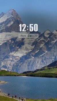 ZUI Locker Theme - Swiss screenshot 1