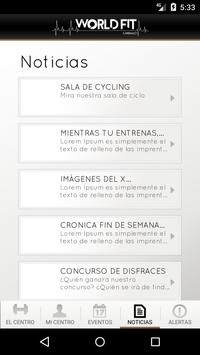 World Fit Carballo apk screenshot