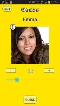 Guess My Age screenshot 4