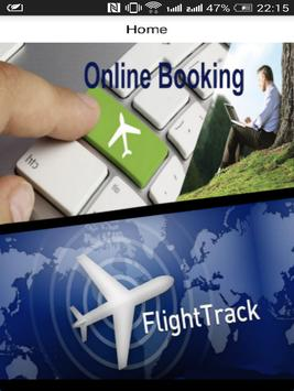 Airline Booking and Tracking poster