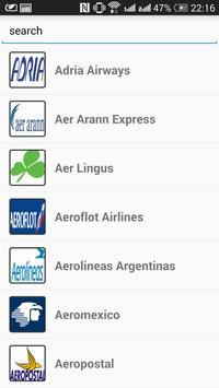 Airline Booking and Tracking apk screenshot