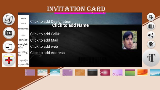 Invitation Cards screenshot 4