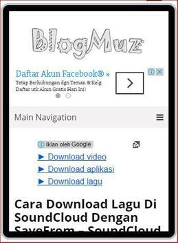 blogmuz apk screenshot