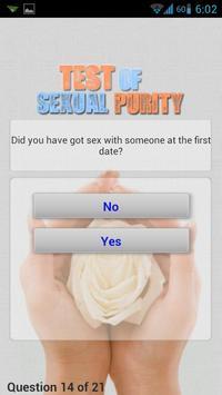 Test of Sexual Purity screenshot 1