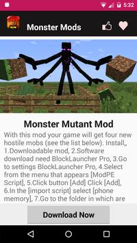 Monster Mod For MCPE. screenshot 10