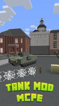 Tank Mod For MCPE. apk screenshot