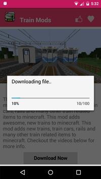 Train Mod For MCPE. screenshot 3