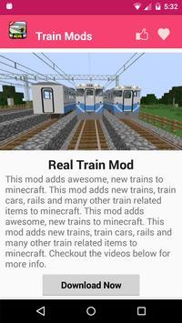 Train Mod For MCPE. screenshot 2