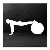 Exercise Ball Workout Routine icon