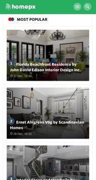 Homepx - Interior Home Decoration & Designs 2018 screenshot 1
