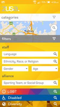 zusa | Diversity Search apk screenshot