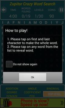Crossword Search screenshot 3