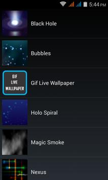 GIF Live Wallpaper apk screenshot