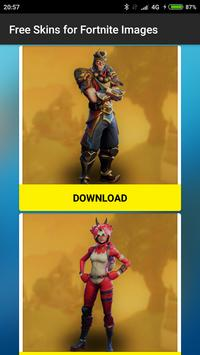 Free Skins for Fortnite images poster