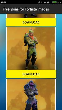 Free Skins for Fortnite images screenshot 1