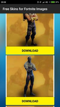 Free Skins for Fortnite images screenshot 2