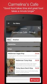Carmelina's Cafe screenshot 1