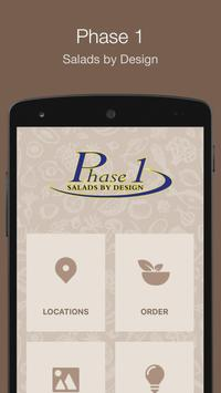 Phase 1 Salads By Design poster