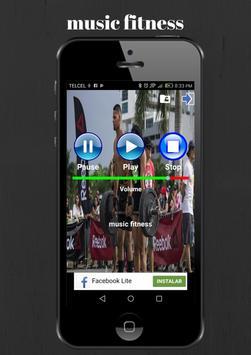 music fitness,music runner screenshot 2