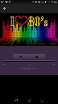 Radio 80s hits screenshot 1