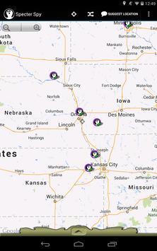 Specter Spy Locations apk screenshot