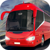 Intercity Bus Fahren Simulator Zeichen