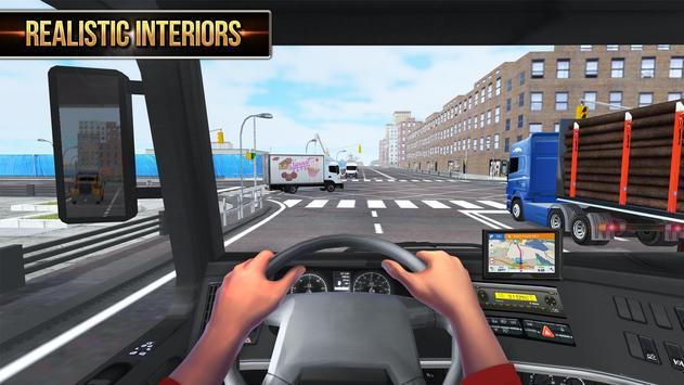 Euro Truck Driver 2018 imagem de tela 2