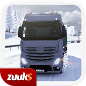 Download Game action android Winter Road Trucker 3D APK free