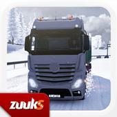 Winter Road Trucker 3D icon
