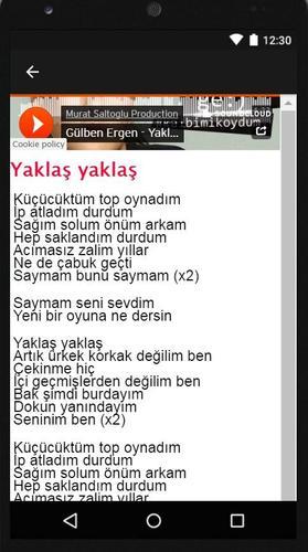Gulben Ergen Mp3 Sarki For Android Apk Download
