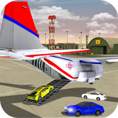 airplane car transporter plane: real plane driving icon