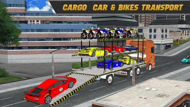 Modern Car: Bike Drive Transport 3D apk screenshot
