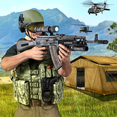 Army Sniper Desert 3D Shooter icon