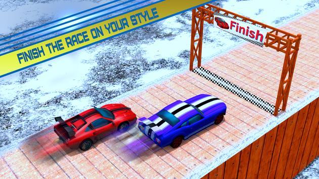 Car Stunt Racing Impossible Track screenshot 4