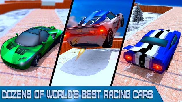 Car Stunt Racing Impossible Track screenshot 8