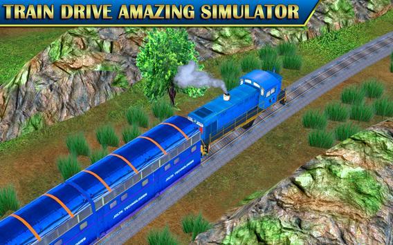 Train Sim Drive Express: Modern Bullet Train 3D screenshot 2