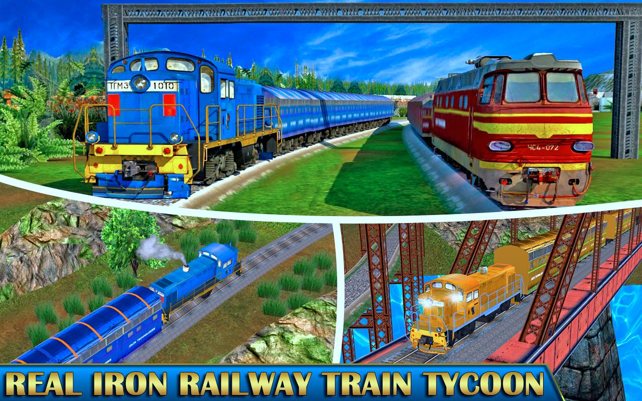 Modern Train 3d Model