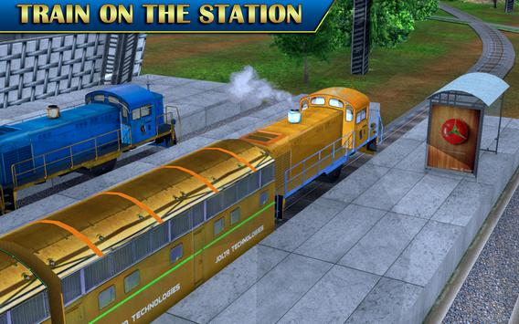 Train Sim Drive Express: Modern Bullet Train 3D screenshot 6