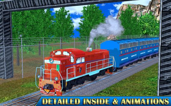 Train Sim Drive Express: Modern Bullet Train 3D screenshot 8