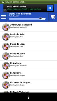Castilla Leon Guide News Radio screenshot 3