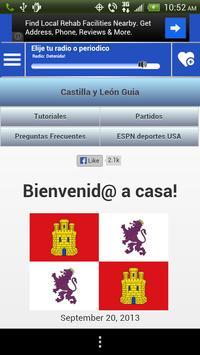 Castilla Leon Guide News Radio screenshot 1