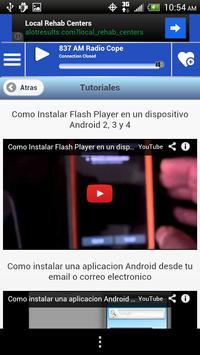 Castilla Leon Guide News Radio screenshot 7