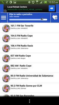 Castilla Leon Guide News Radio screenshot 4
