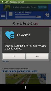 Castilla Leon Guide News Radio screenshot 6