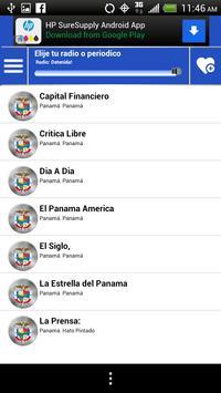 Panama Guide News Papers Radio screenshot 3