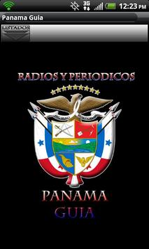 Panama Guide News Papers Radio poster