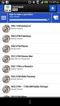 Panama Guide News Papers Radio screenshot 4