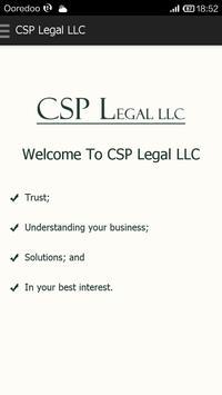 CSP Legal LLC poster