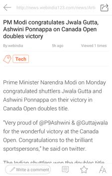 TopNews apk screenshot